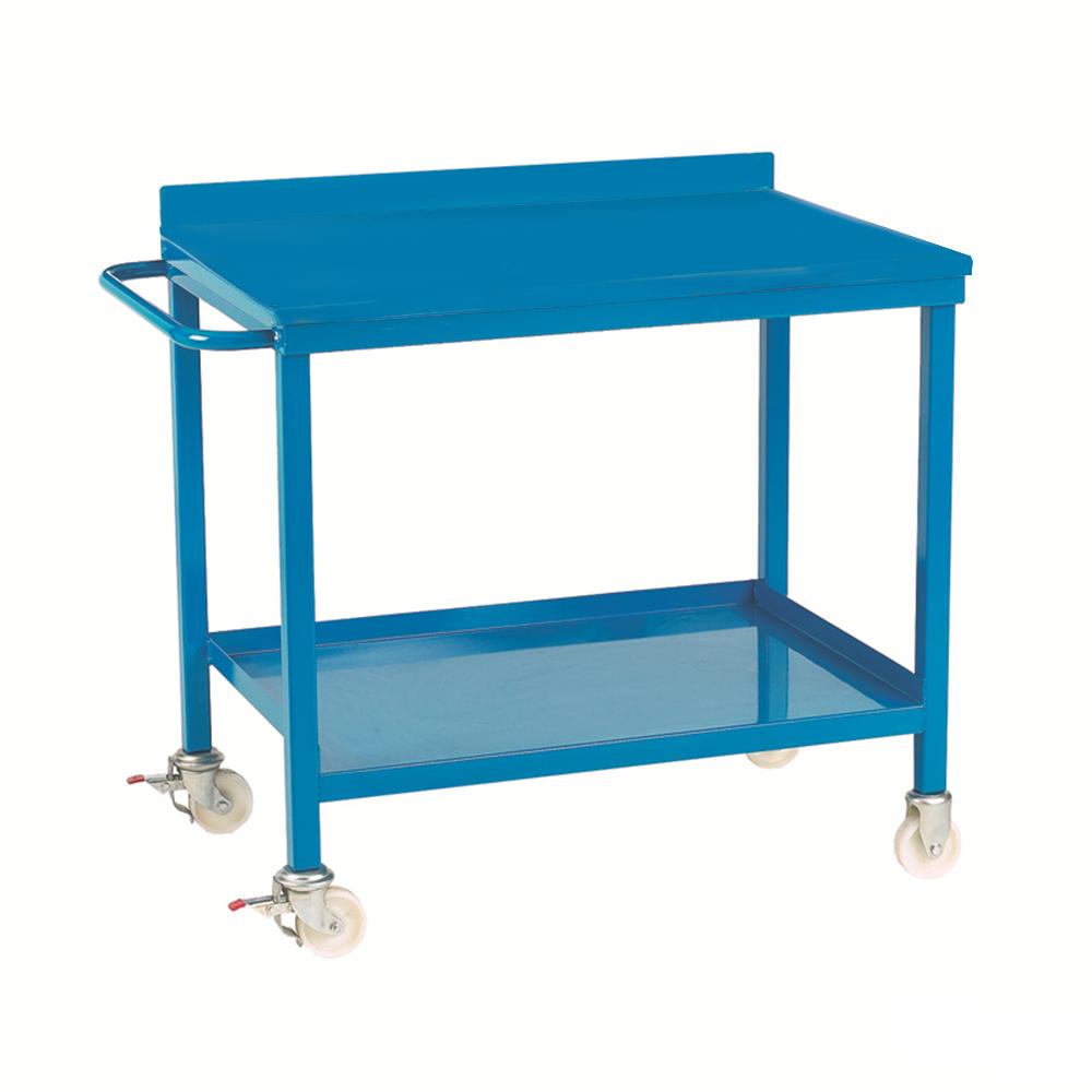 Mobile Workbench - Steel Top