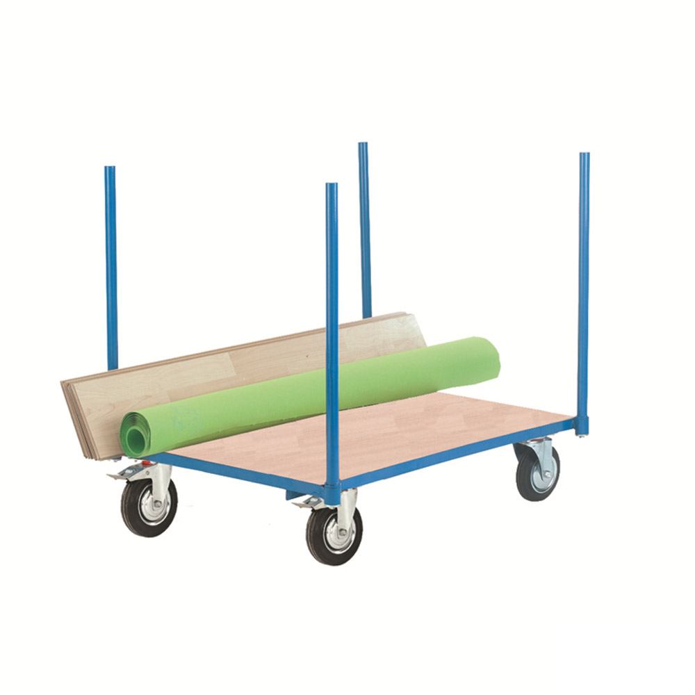 Plywood Board Platform Truck - 4 Corner Uprights