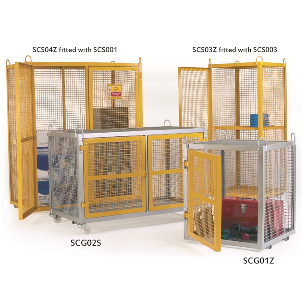 Security Cages - 880 x 700 x 700