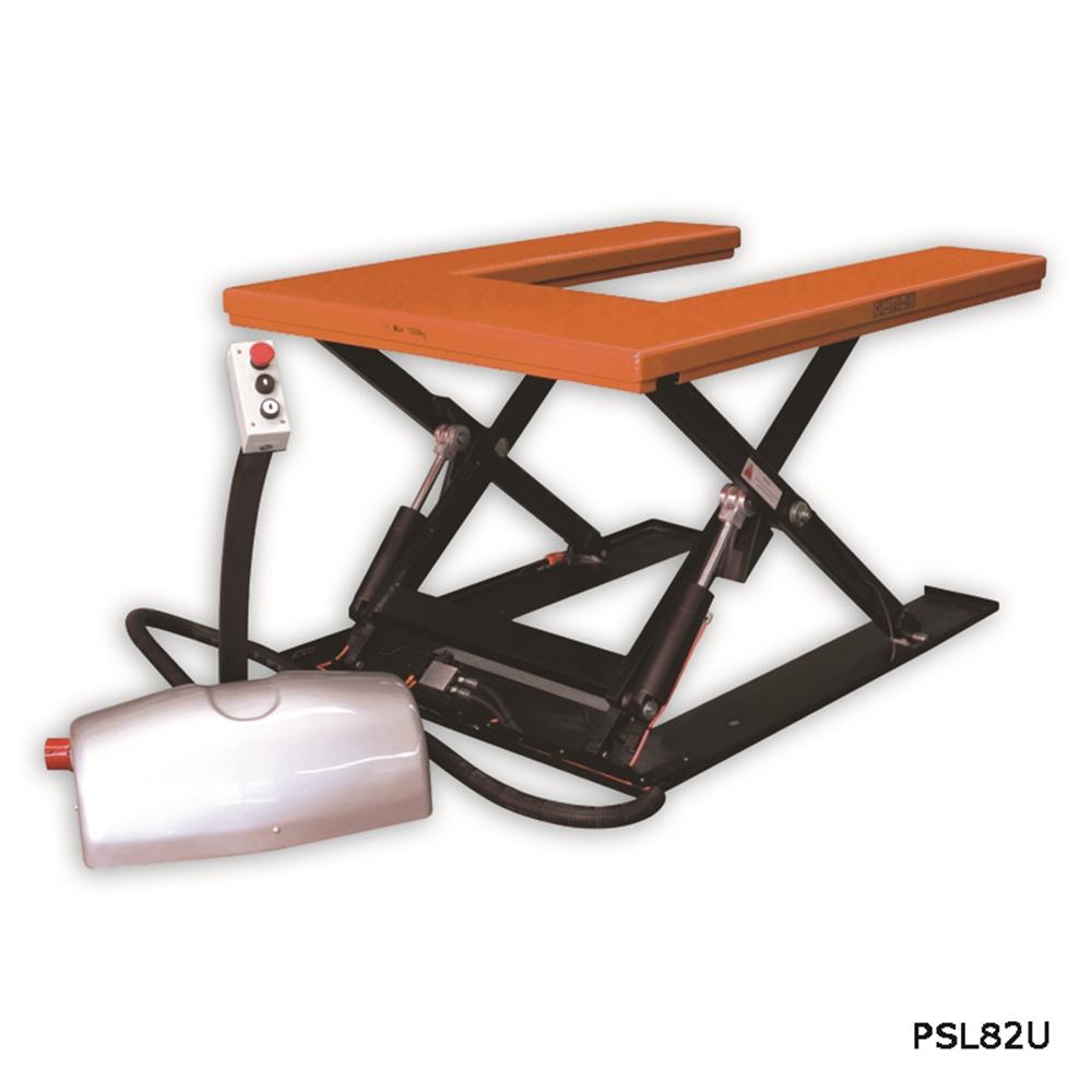 Static Lift Table - U Platform