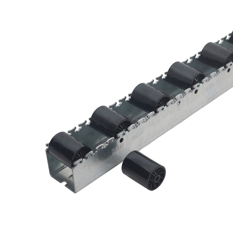 HD Roller Tracks - Cyl Plastic Rollers - 96mm Pitch