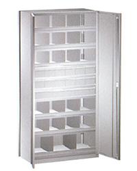 HI280 Ship Shelving Cabinet with 10 Shelves