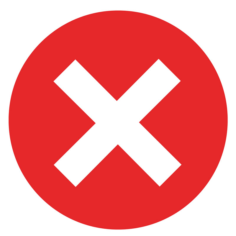Social Distancing Seat Sticker - Red Cross