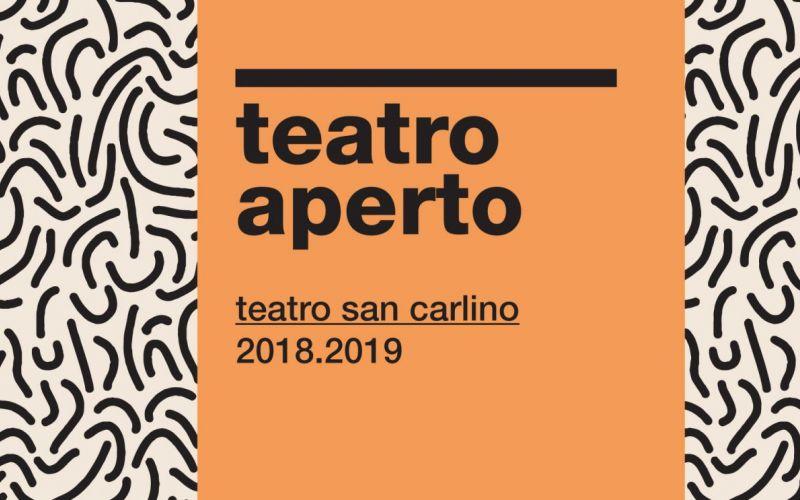 TEATRO APERTO 2018 focus autori italiani