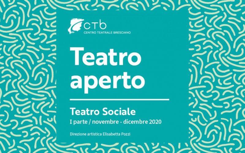TEATRO APERTO I parte 2020 ANNULLATO