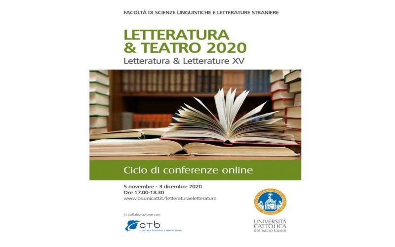 Letteratura & Teatro 2020