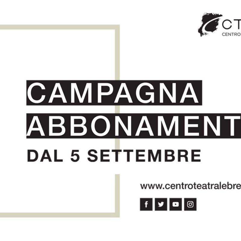 ABBONAMENTO LA PALESTRA DEL TEATRO (7 SPETTACOLI) prelazioni 5 e 6 settembre, nuovi abbonati dall'11 settembre