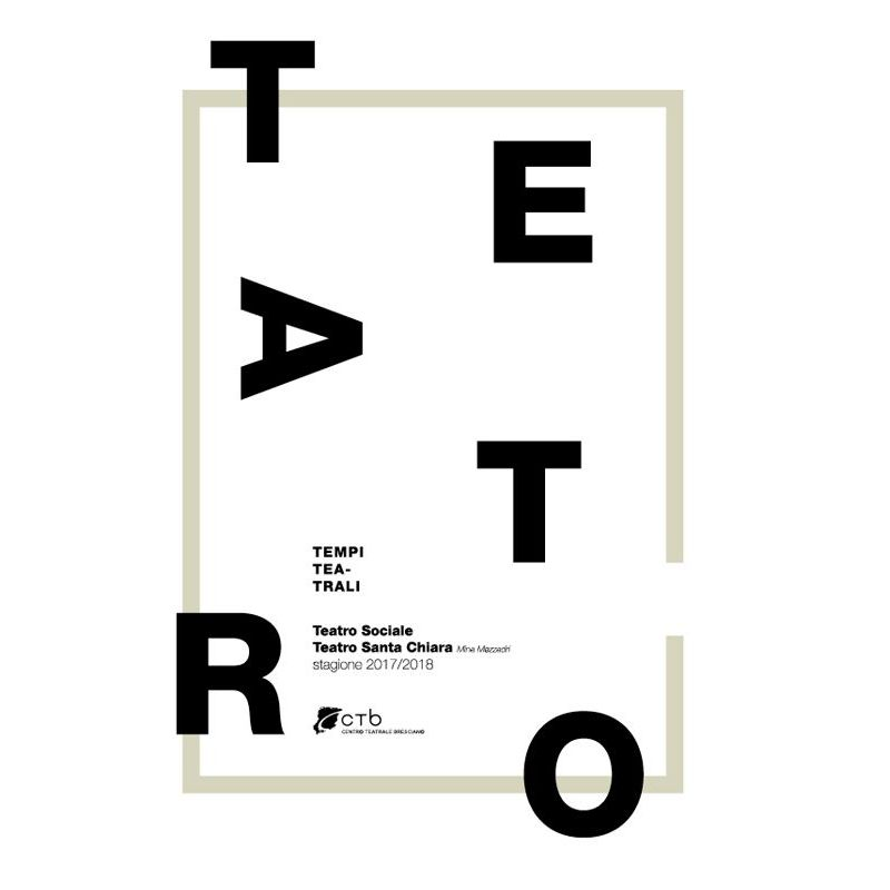 """Presentazione di preventivi per la realizzazione della piattaforma web """"Teatro a Brescia"""""""