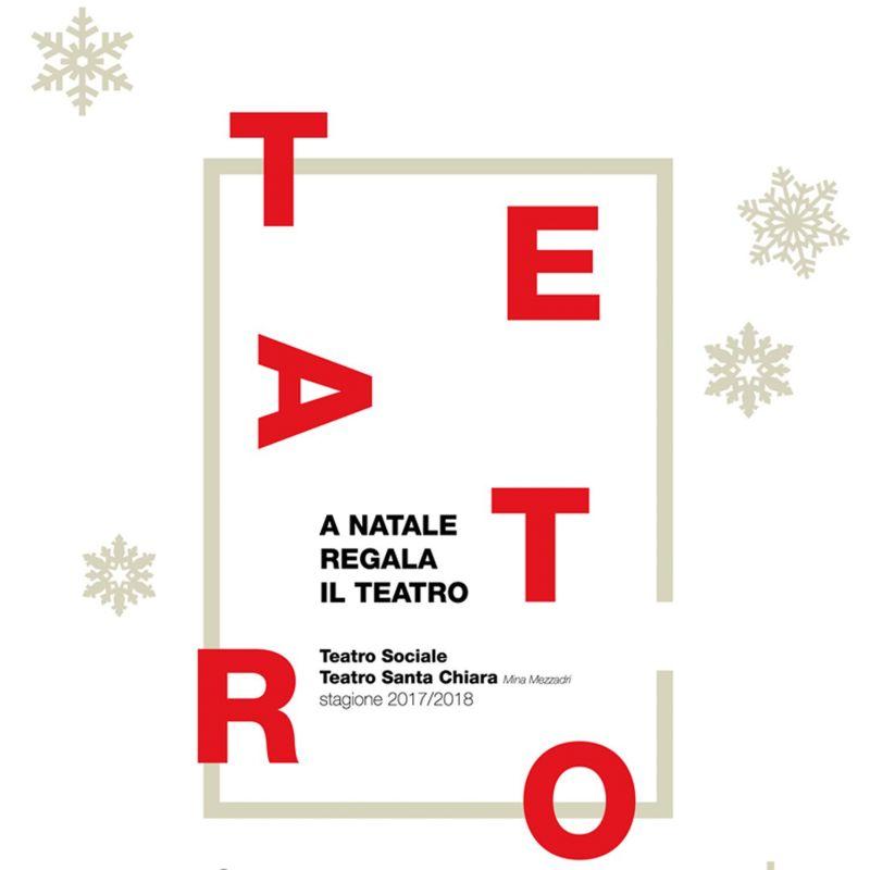 CARTA REGALO (3/2 SPETTACOLI) dall'1 al 31 dicembre