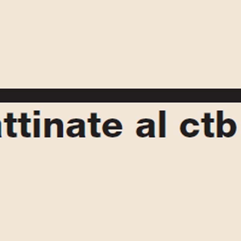 Mattinate al CTB