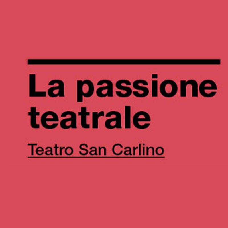 La passione teatrale