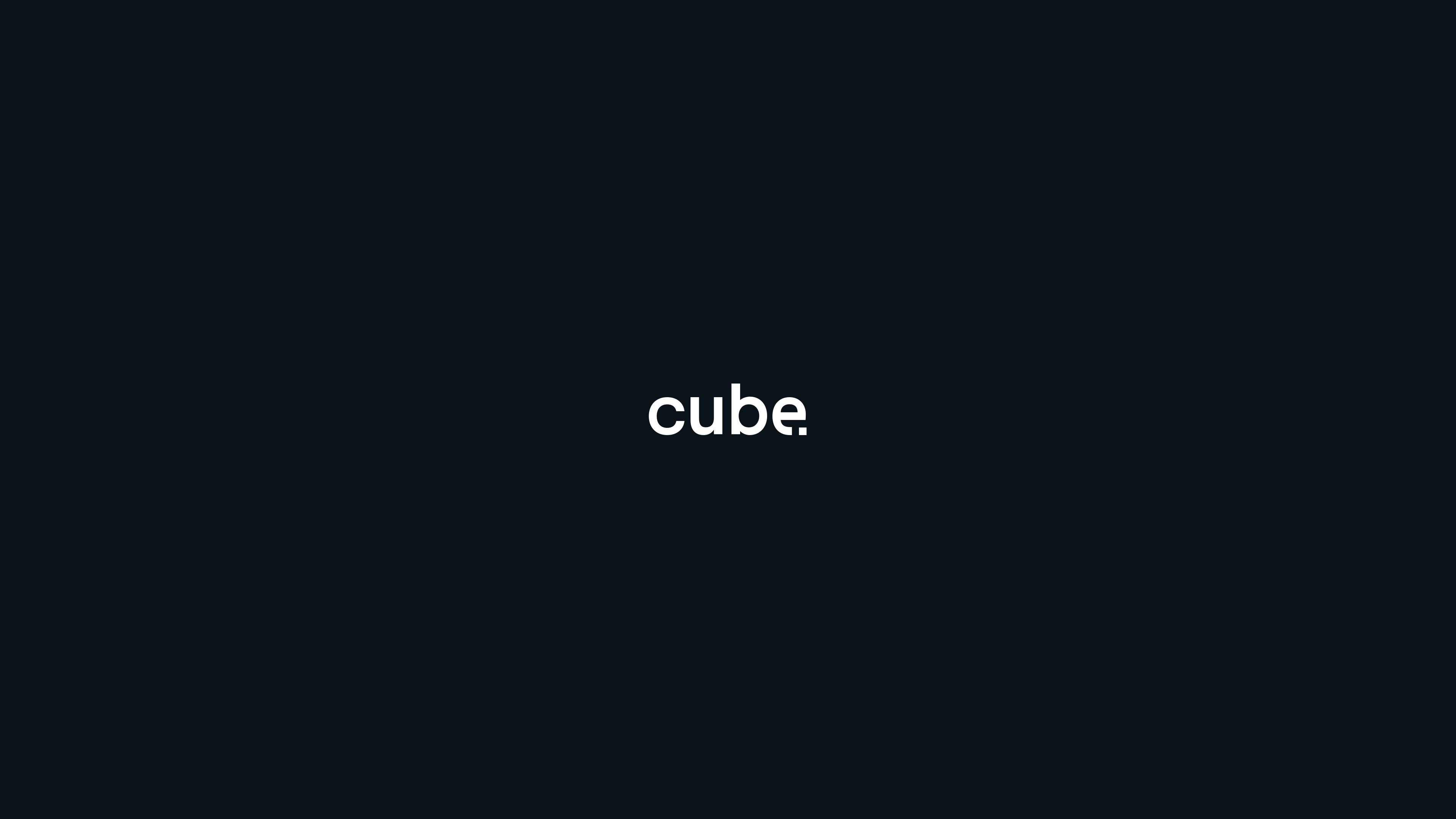 Nieuwsbericht hoofdafbeelding Cube