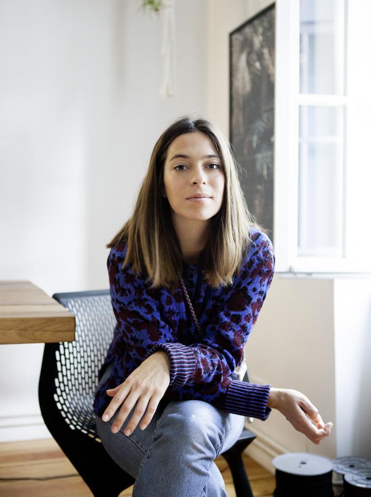 Yara Jentzsch Dib, the founder of xouxou