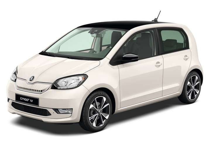 Citigo e iV Candy white