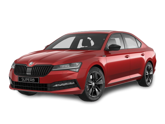Superb Hatchback Sportline-Velvet_Red_Metallic