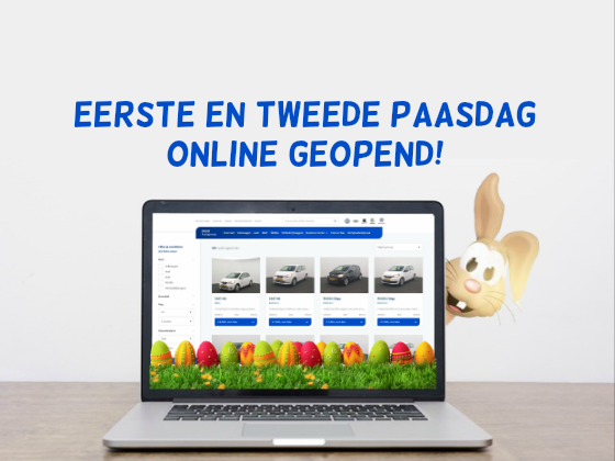 Online showroom DAGO Autogroep 2e Paasdag geopend