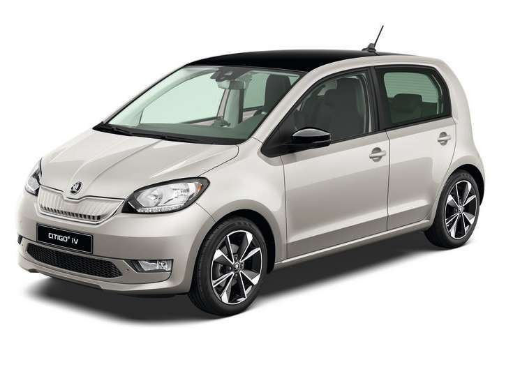 Citigo e iV Tungsten silver metallic