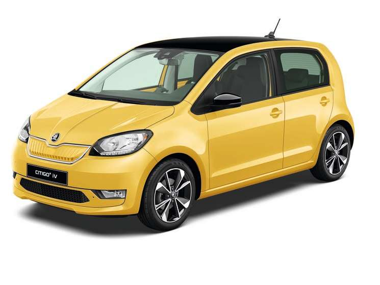 Citigo e iV Sunflower Yellow