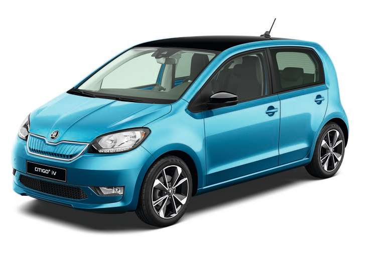 Citigo e iV Crystal blue metallic