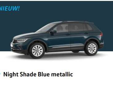 nieuwe tiguan night shade blue metallic