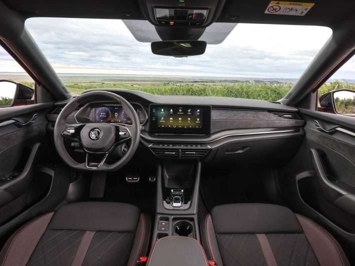 octavia rs interieur
