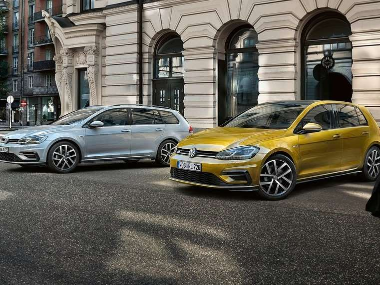 golf 8 vs golf variant