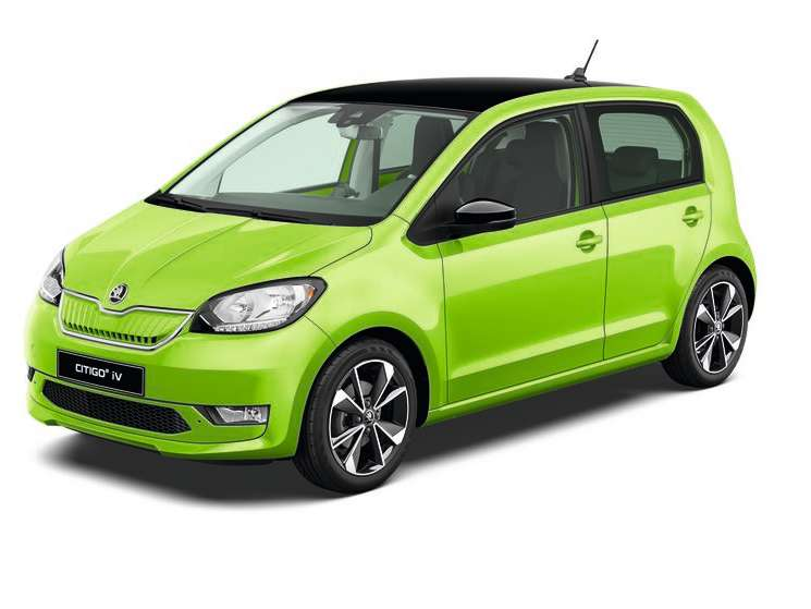 Citigo e iV Kiwi green
