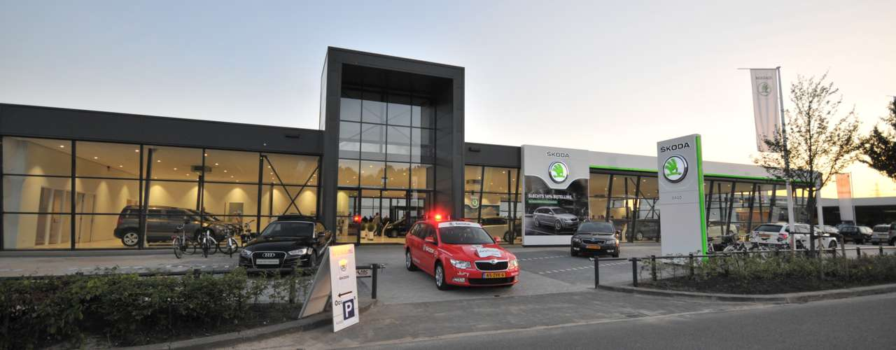 skoda showroom header