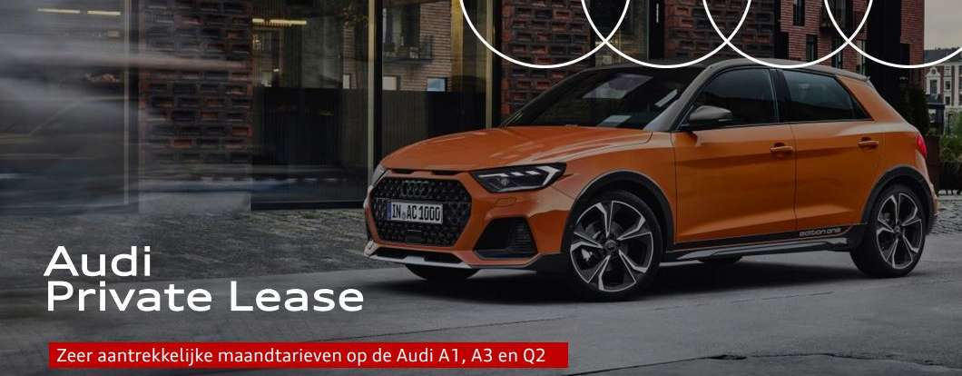audi private lease acties
