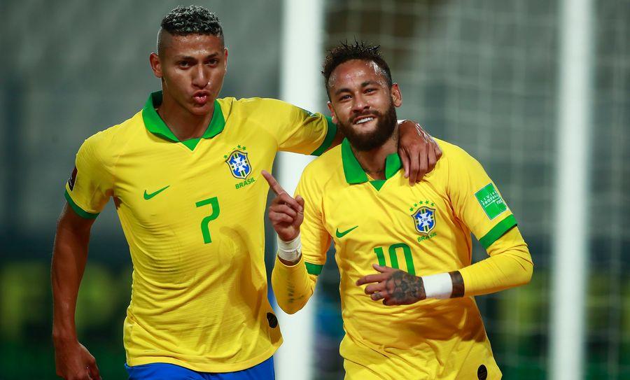 Шикарний гол Каррільо і хет-трик Неймара — в огляді феєричного матчу Перу — Бразилія (ВІДЕО)