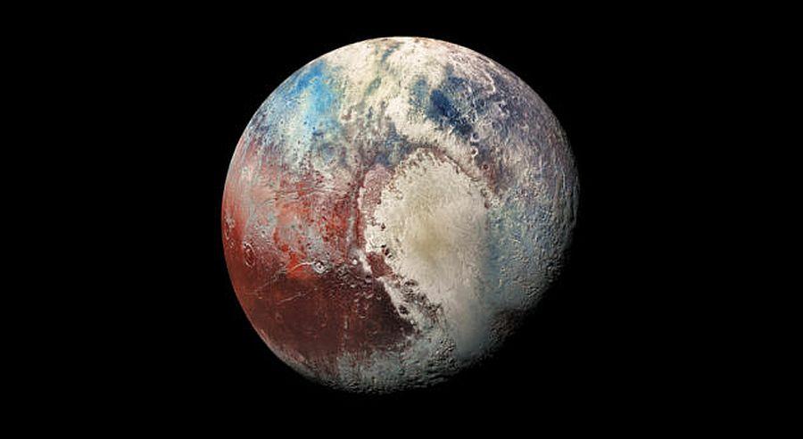 Ученые выяснили, откуда на Плутоне появился снег