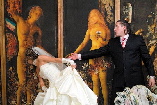 Свадьба курьезы