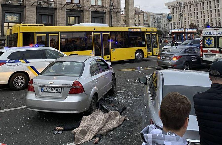 Водитель, сбивший людей на Майдане Независимости, был трезв и экс-чиновником