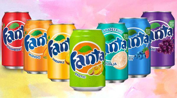 Фанта вкусы