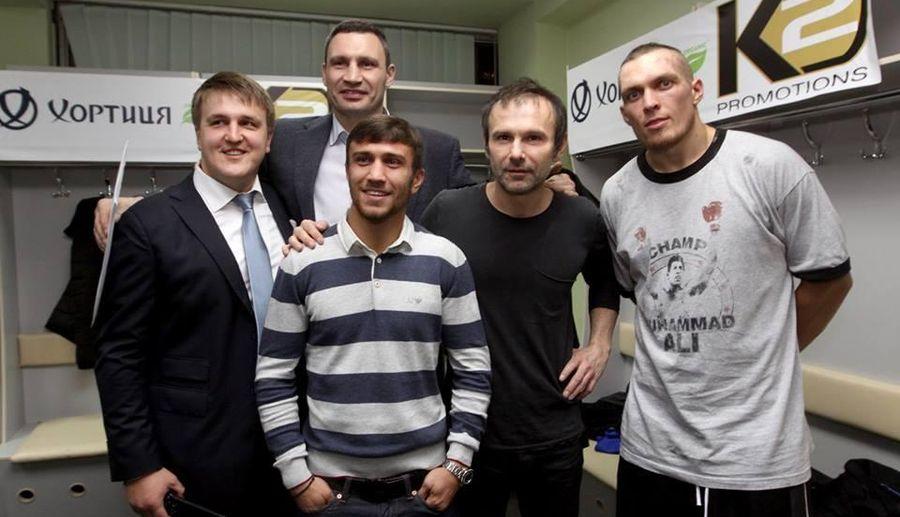 «Він патріот»: Віталій Кличко заступився за Усика перед хейтерами