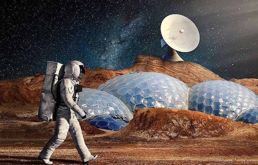 Илон Маск рассказал, как будут жить первые колонисты на Марсе (Видео)