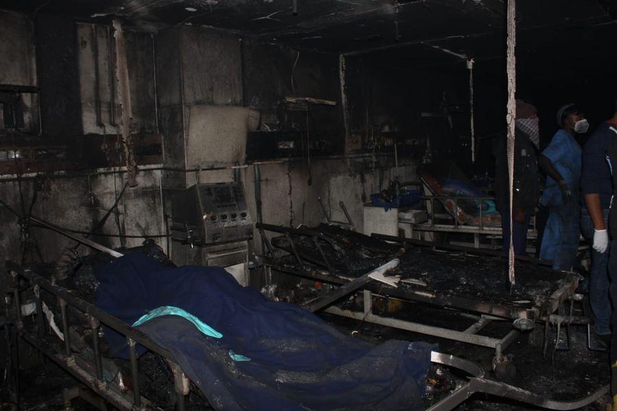 Пожар в COVID-больнице в Индии унес жизни пяти человек
