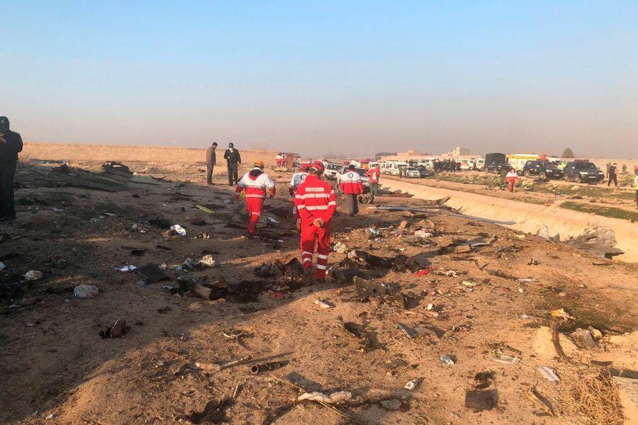 Катастрофа літака МАУ: Іран надав Україні технічний звіт про причини катастрофи