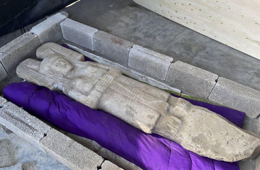 Редкая находка: В Мексике обнаружили уникальную женскую статую