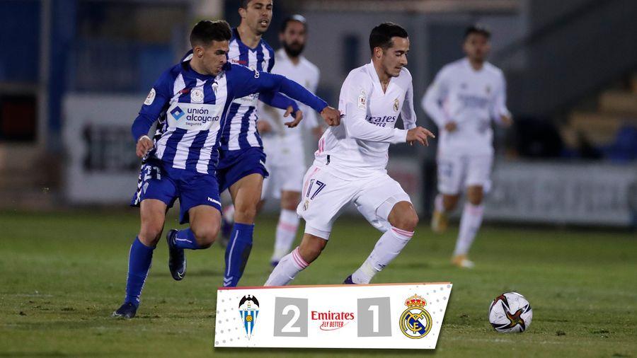 Реал сенсационно вылетел из Кубка Испании от клуба из третьего дивизиона в дебютной игре Лунина
