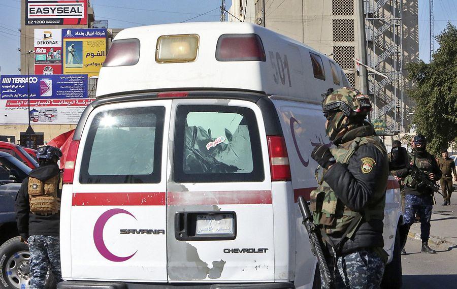 Теракт в столице Ирака: по меньшей мере 28 человек погибли (ВИДЕО)