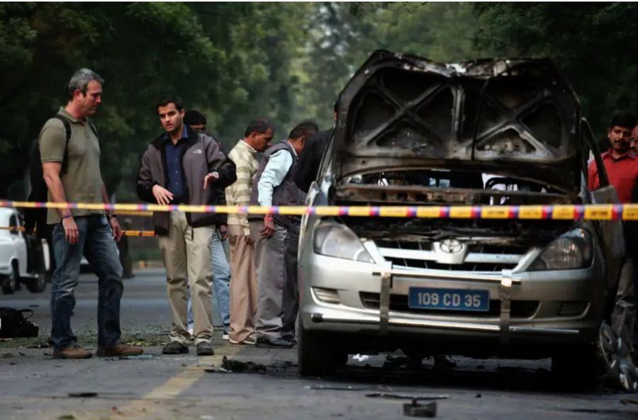 Біля посольства Ізраїлю в Індії прогримів вибух (ВІДЕО)