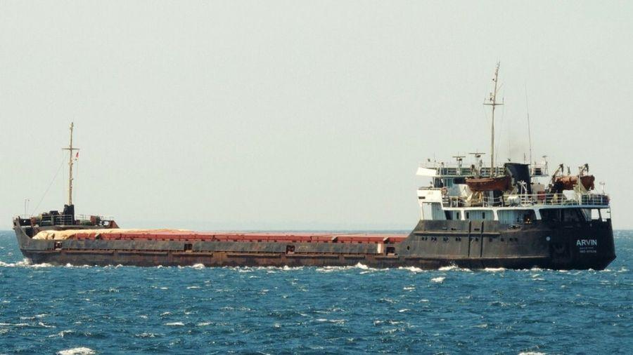 Опубліковано відео моменту аварії судна Arvin біля берегів Туреччини