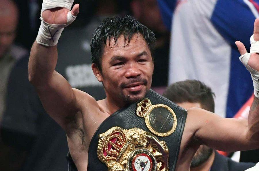 Легендарний Менні Пак'яо позбавлений титулу чемпіона світу за версією WBA Super