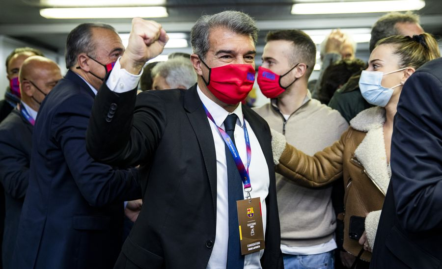 Жоан Лапорта звернувся до вболівальників Барселони після обрання на пост президента клубу