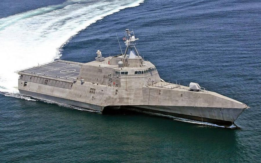 У США спустили на воду новий бойовий корабель типу Independence