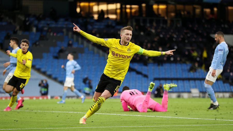 Манчестер Сіті здобуває перемогу в першій грі 1/4 фіналу ЛЧ проти Боруссії Дортмунд