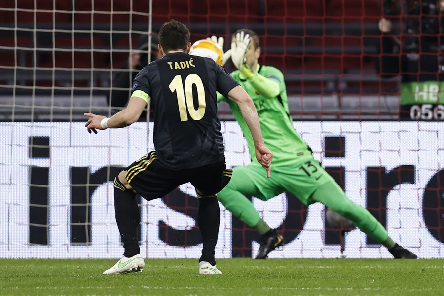 Рома несподівано б'є Аякс на їх полі в першому матчі 1/4 фіналу Ліги Європи