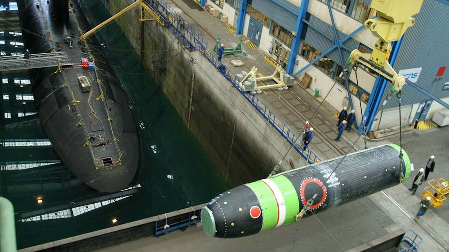 Випробування нової французької балістичної ракети для субмарини типу Triomphant показали на відео