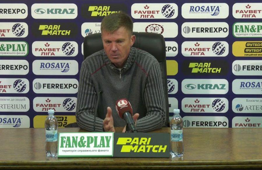 Ворскла — Динамо: коментар Юрія Максимова після розгромної поразки
